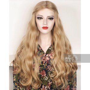 Honey Blonde Wavy Lace Wig | Bianca
